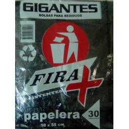 BOLSA RESIDUOS FIRA 50 X 55 (PAQ X 30)