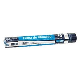 PAPEL ALUMINIO ROLLO 30CM X 7.5 METROS