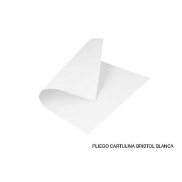 CARTULINA BLANCA X 20 UNIDADES 50cm x 65cm