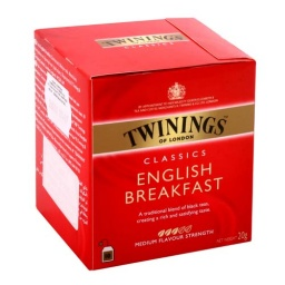 TE TWININGS X 10 ENGLISH BREAKFAST
