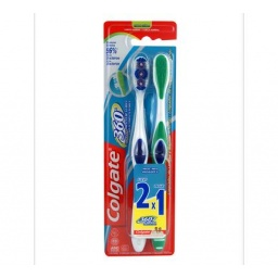 CEPILLO DENTAL COLGATE 360 OFERTA 2×1