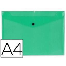 CARPETA  PLASTICA C/BOLSILLO  A4