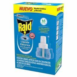 INSECTICIDA RAID REPUESTO 45 NOCHES