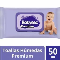 TOALLITAS BABYSEC PREMIUM X 50