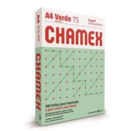 CHAMEX COLORS A4 X 500 HOJAS VERDES