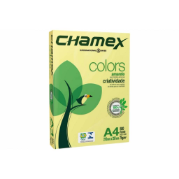 CHAMEX COLORS A4 X 500 HOJAS AMARILLO