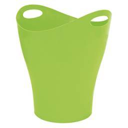 PAPELERA PLUS OFFICE PLASTICO VERDE MANZANA