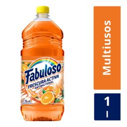FABULOSO X 1 LITRO ENERGIA NARANJA