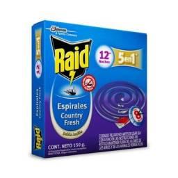 INSECTICIDA RAID ESPIRALES FRESH X 12