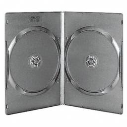 CAJA DOBLE PARA DVD 9 MM PACK X 150 UNIDADES