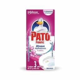 Desodorante para Inodoro PATO Adhesivo x 3 Unidades