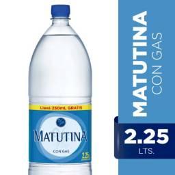 MATUTINA PET CON GAS X 6 2.25L