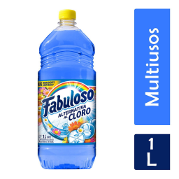 FABULOSO X 1 LITRO ALTERNATIVA AL CLORO