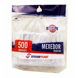 CUCHARITAS AGITADOR TRANSPARENTE X 500