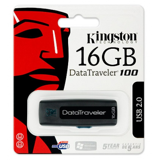 PENDRIVE KINGSTON 16 GB 2.0