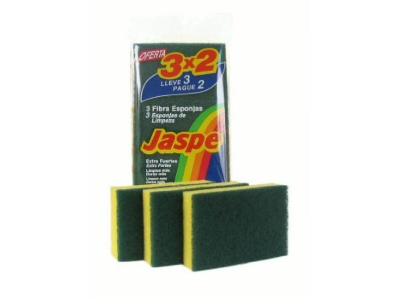 ESPONJA FIBRA JASPE 3X2