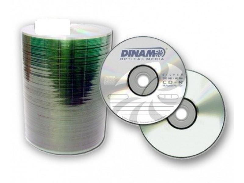 CD-R DINAM BULK X 100 UNIDADES
