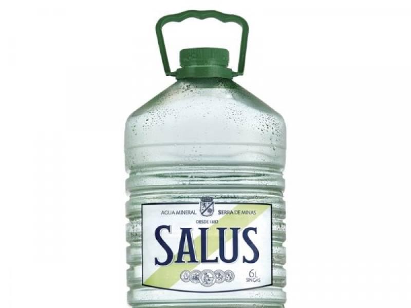 AGUA SALUS SIN GAS X 6 LITROS